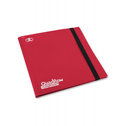 UGD - 12-Pocket QuadRow FlexFolio Red
