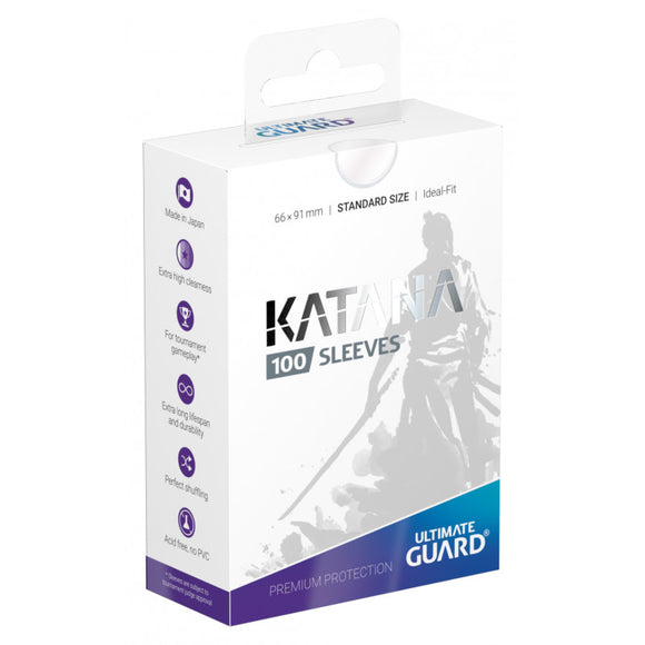 Ultimate Guard Katana Sleeves Standard Size Transparent(100)