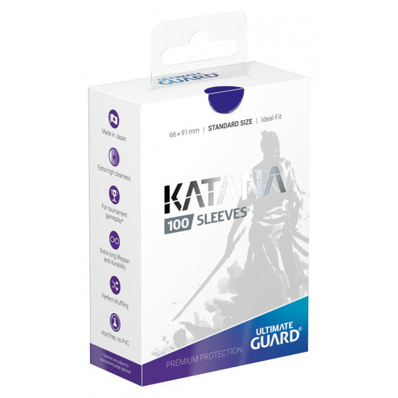 Ultimate Guard Katana Sleeves Standard Size Blue (100)