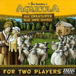 Agricola All Creatures Big and Small 2 player Game