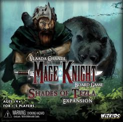Mage Knight: Shades of Tezla Expansion Set