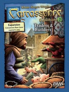 Carcassonne v2 exp 2: Traders & Builders