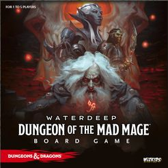 Waterdeep: Dungeon of the Mad Mage Board Game Std. Ed.