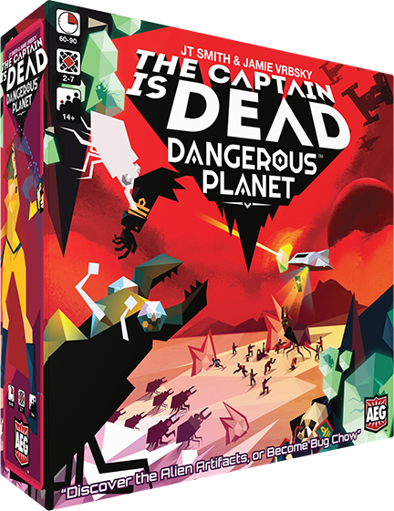 The Captain is Dead: Dangerous Planet *PRE-ORDER*