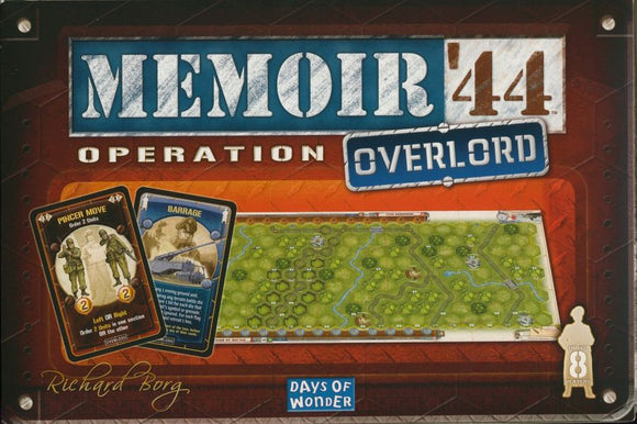 Memoir '44 expansion: Operation Overlord