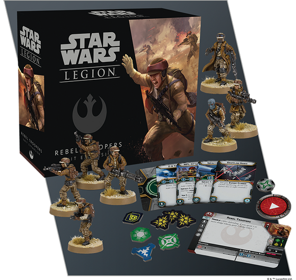 Star Wars Legion Rebel Troopers Unit Rebel Expansion