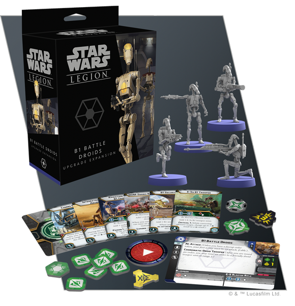 Star Wars Legion: B1 Battle Droids Upgrade Expansion *PRE-ORDER*