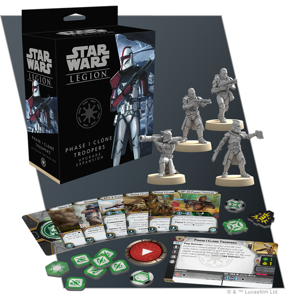 Star Wars Legion: Phase I Clone Troopers Upgrade Expansion *PRE-ORDER*