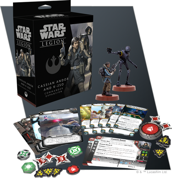Cassian Andor and K-2SO Commander Expansion *PRE-ORDER*