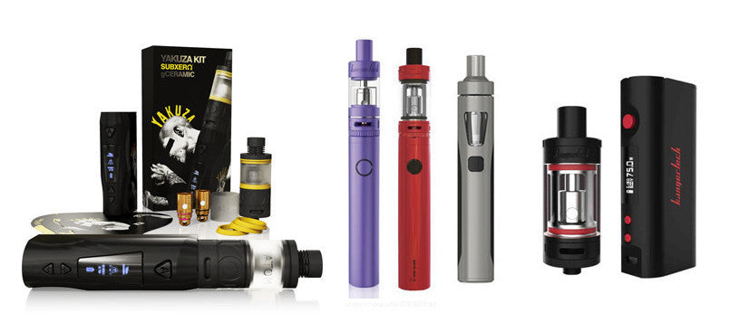 10 Best Vaping Kits for 2016 Revealed