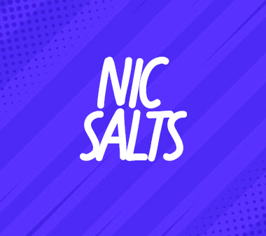Browse our Nic Salts collection.