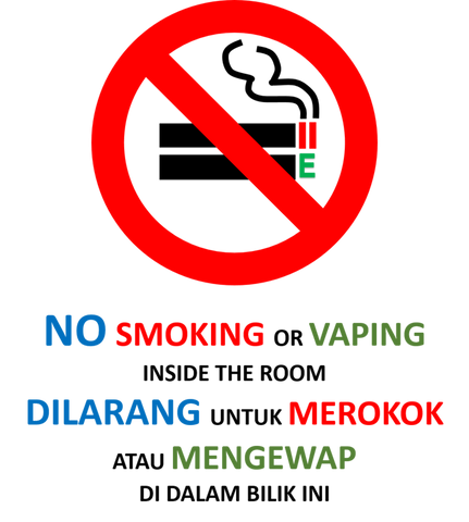 TPD No Vaping Allowed