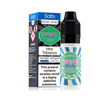 Dinner Lady Nic Salt - Mint Tobacco