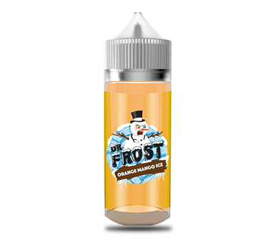 Dr Frost Orange Mango Ice Zero mg 100ml Shortfill