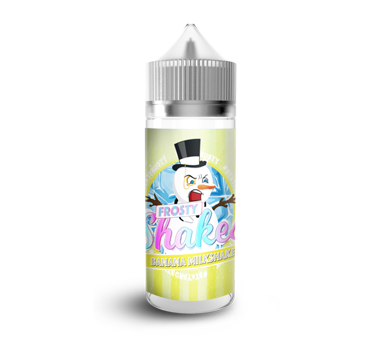 Frosty Shakes - Banana Milkshake 100ml 0mg Shortfill