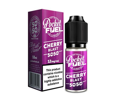Pocket Fuel 50/50 10ml cherry blast