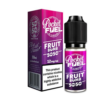 Pocket Fuel 50/50 10ml fruit bomb