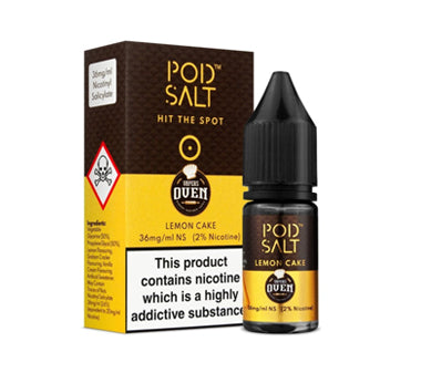 Pod Salt - Vapers Oven Lemon Cake