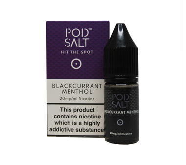 Pod Salt Blackcurrant Menthol 10ml Nic Salt