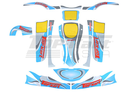 Top Kart USA - 2014 Adult Graphic Kit
