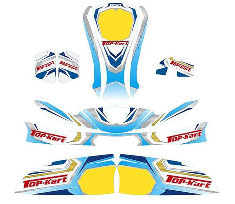 Top Kart USA - 2016 Mini Graphic Kit