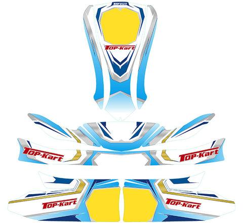 Top Kart USA - 2016 Kid Kart Graphic Kit