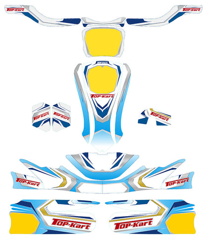 Top Kart USA - 2016 Twister Graphic Kit