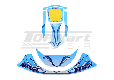 Top Kart USA - 2013 Mini Nose Graphic Kit