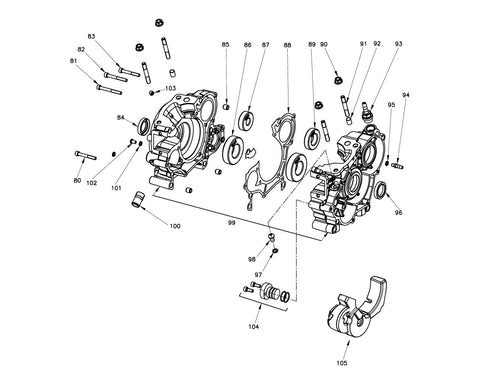 ROK GP - Crankcase Group