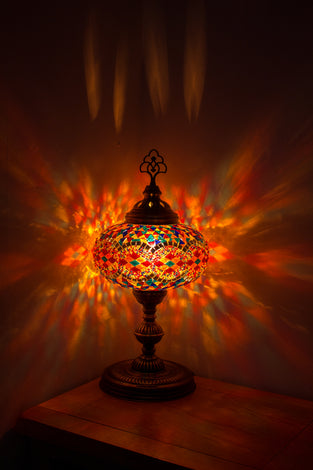 Traditional Globe Table Lamps