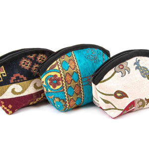 Tapestry Turtle Coin Purse Various Colours