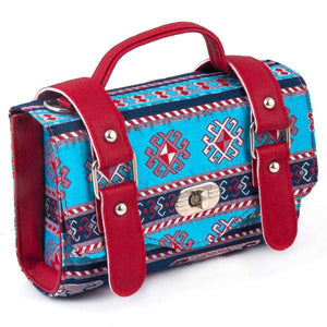 Tapestry Satchel Style Bag