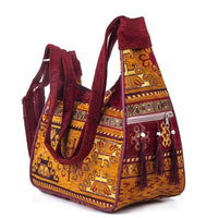Tapestry Small Tassel Shoulder Bag
