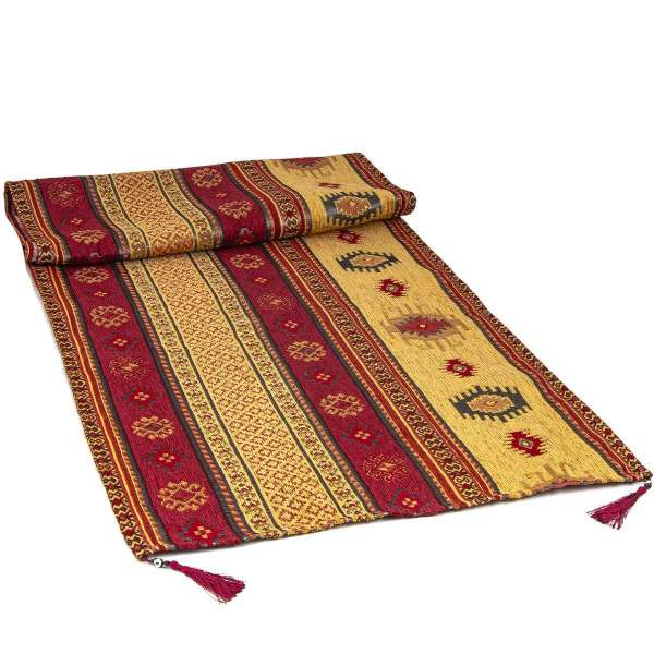 Traditional Tapestry Table Runner 140x50cm 014