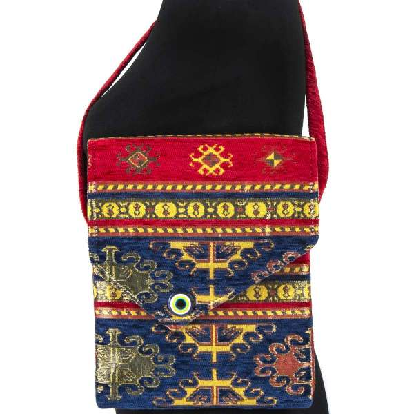 Tapestry Oblong Cross Body Bag