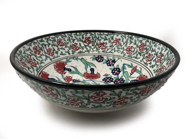 Handmade Ceramic 30cm Serving Bowl 003