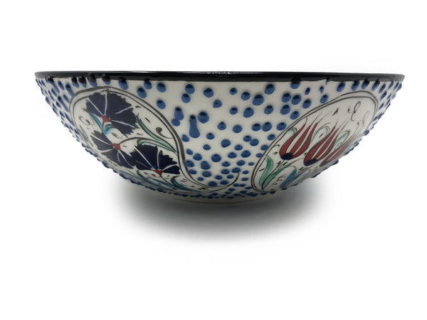 Handmade Ceramic 30cm Serving Bowl 006