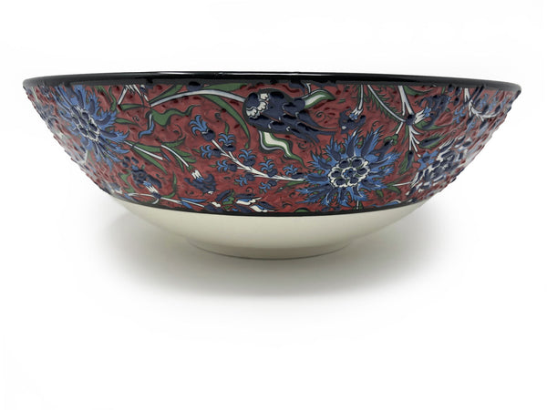 Handmade Ceramic 30cm Serving Bowl 008
