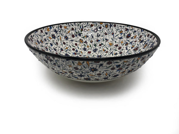 Handmade Ceramic 30cm Serving Bowl 009