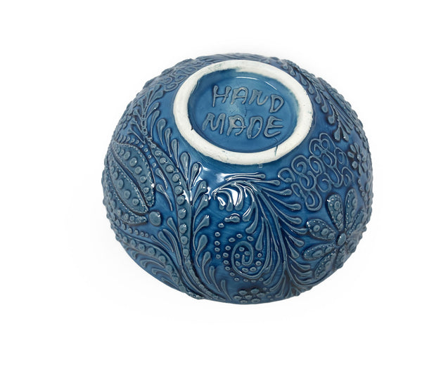 Ozel Handmade Ceramic Collection 15cm Bowl Blue