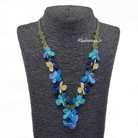 Handmade Needle Lace Festival Necklace
