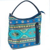 Tapestry Bucket Bag