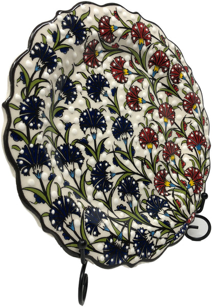 Special Collection Handmade Ceramic 25cm Plate 006