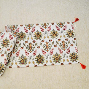 Traditional Tapestry Table Runner 140x50cm 001