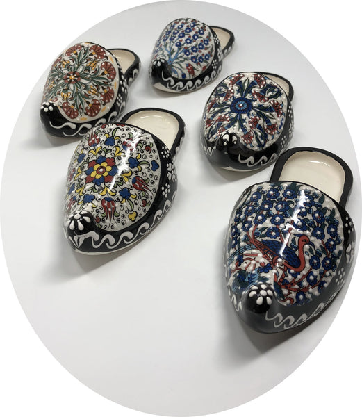 Handmade Traditional Ceramic Slipper 002