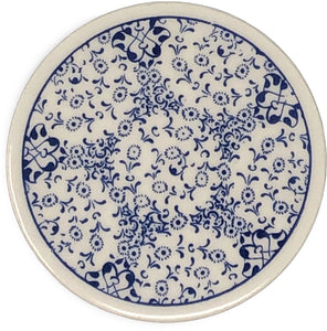 Traditional Turkish 9.5cm Ceramic Circular Coaster 001