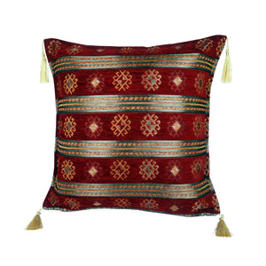 Traditional Turkish Handmade Cushion 42x42cm ET-M1 Red