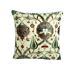 Traditional Turkish Handmade Cushion 42x42cm ET-M38 Stone