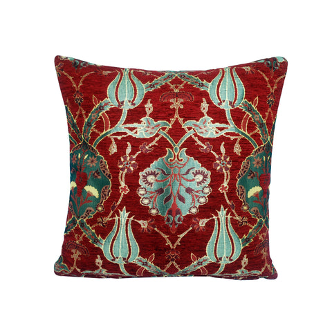Traditional Turkish Handmade Cushion 42x42cm ET-M49 Red
