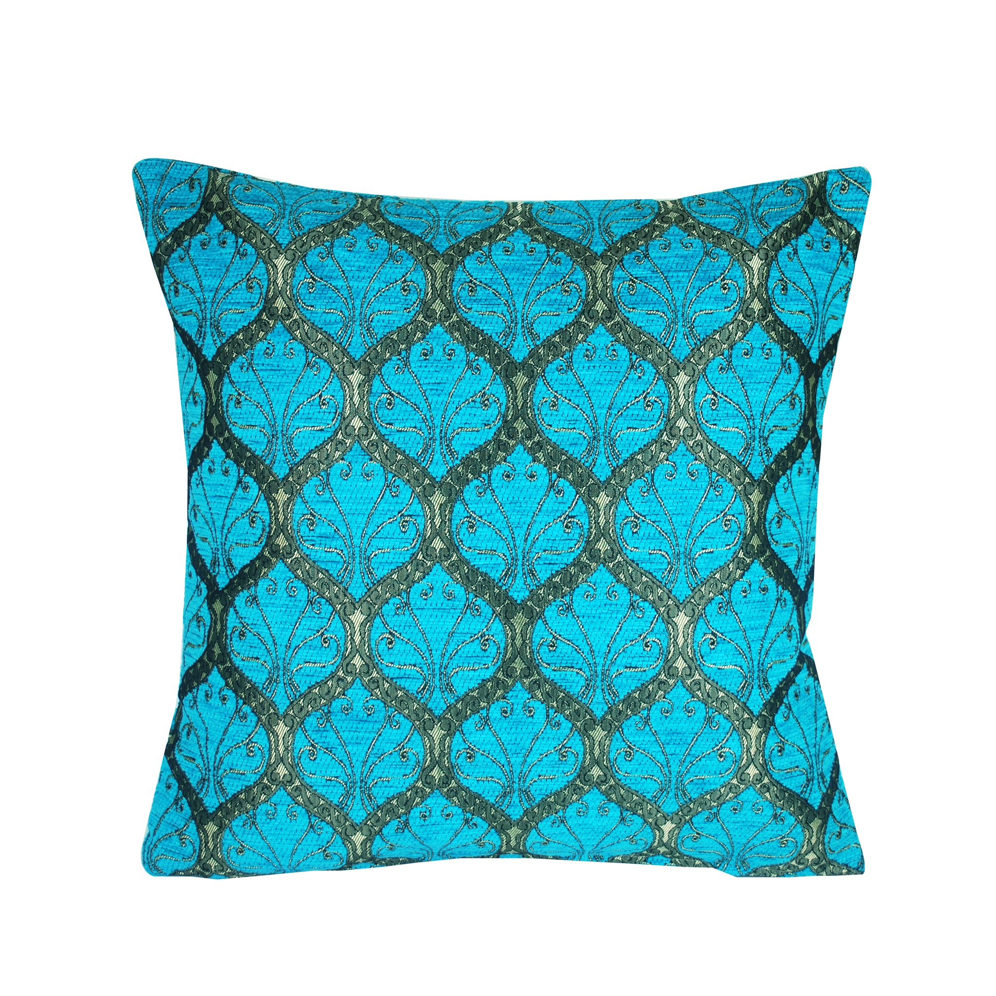 Traditional Turkish Handmade Cushion 42x42cm ET-M81 Turquoise